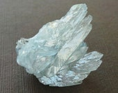 Raw Healing Sky Blue Barite Flower Terminated Crystal Mineral Specimen Blue Crystal