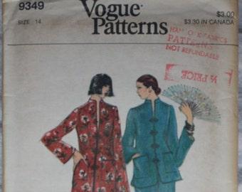 Uncut - Vogue Patterns 9349 - size 14