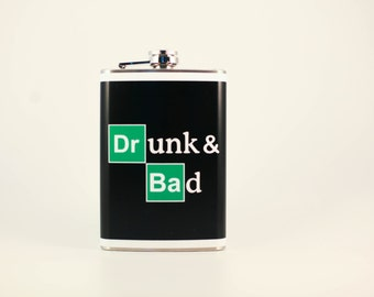 Drunk and Bad - Flask by jDUCT