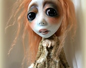 Loopy Southern Gothic Art Doll Victorian Dark Goth Milly