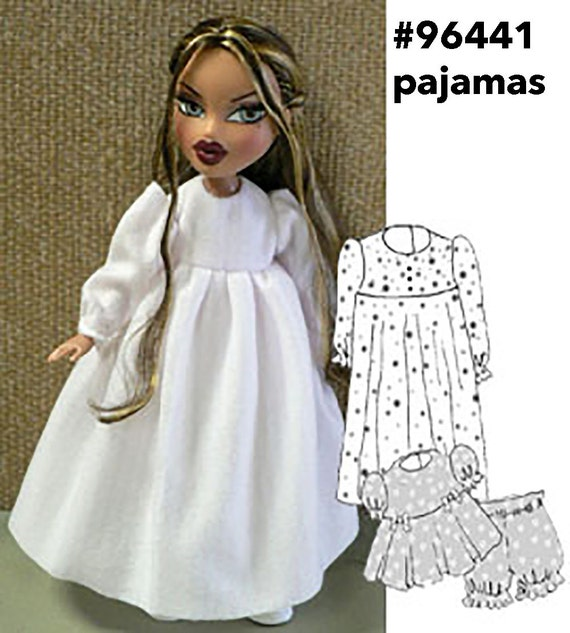 Knitting Patterns For Bratz Doll Clothes : Bratz doll clothes sewing pattern for Moxie Bratz simple