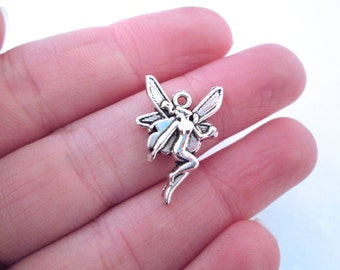 Silver Plated Fairy Charms, Pick Your Amount, G145