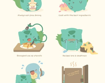 MINI Bulbasaur's Guide to Gastronomy
