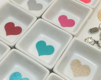 Valentine's Day Heart Ring Dish