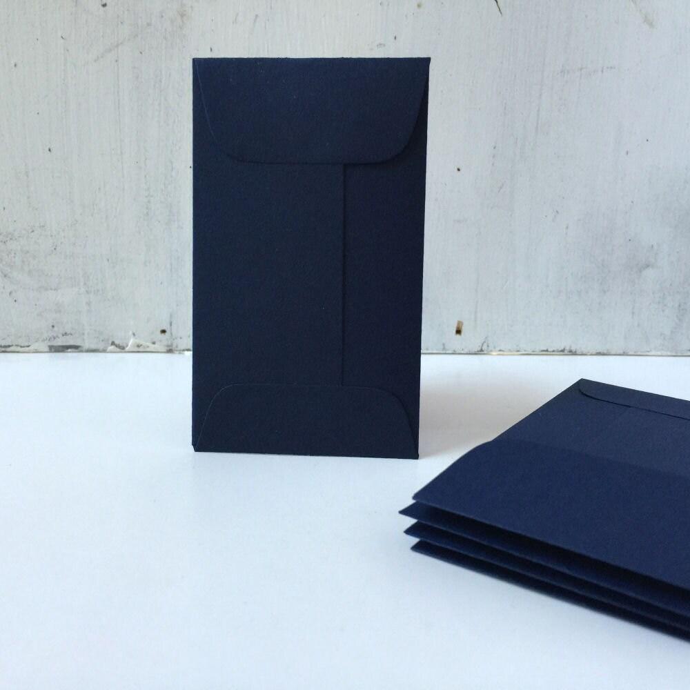 25 Navy Blue Wedding EnvelopesCoin Envelopes Business Card