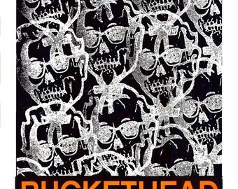 Buckethead 2016  Screen Print Concert  Poster by Print Mafia