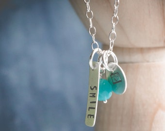 Smile for the Camera Necklace {Sterling Silver}
