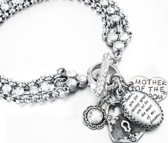 Design Your Own Custom Bangle Charm Bracelet Pick Your Charms: Personalized Quote Charm Bracelet Custom By BlackberryDesigns