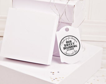 Thank you for sharing in our sweet beginning Self Inking stamp--13046-PI53-000