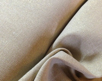 Silver fabric, Linen Blanket Fabric, Metallic fabric, Sparkle Fabric, Linen Skirt Fabric, Gorgeous Linen, Manchester Metallic Champagne