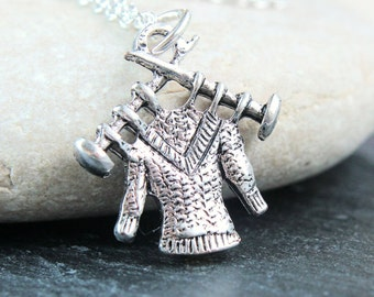 Charm Necklace Sterling Silver Metal Jewelry Knitting Charm Pendant Silver Necklace Gift For Mom Charm Jewelry Accessories Gift For Knitters