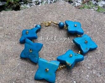 Wood Star Bracelet