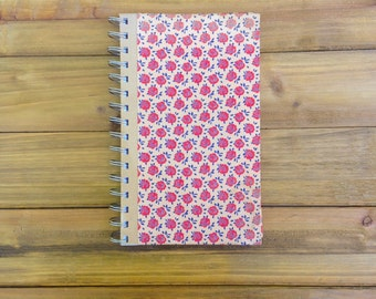 Red Flower Notebook // Flowers  Book Journal