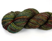 Copper Patina--hand dyed worsted weight, merino superwash (218yds/100gm)