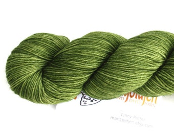 Envy--hand dyed sock yarn, merino and nylon, (463yds/100gm)