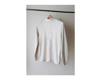 1990's Turtle Neck Long Sleeve Top