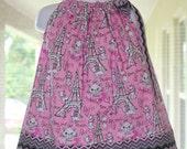 Disney Aristocats Marie,Pillowcase Dress, Handmade, Baby Dress, Toddler Dress, Girls Dress, Paris Dress, Birthday Dress  ,Cotton Dress,