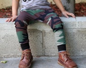 Baby Boy Baby Girl Green Brown Black Camouflage Harem Pants: Etsy kid's fashion, toddler boy, toddler girl, camo, army