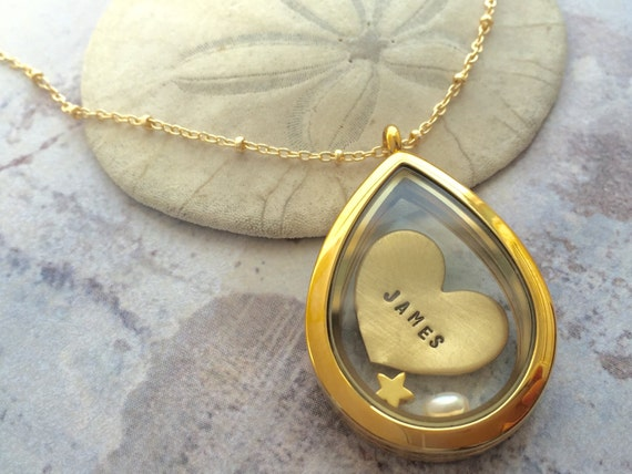 personalized necklace, Name necklace, child initials necklace, new mom gift, floating locket, personalized necklace, memory locket