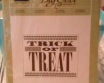 Trick or Treat Letterpress