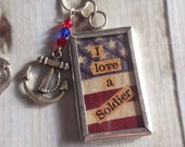 I love my Solider Necklace