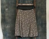 Prairie Print Mini Skirt