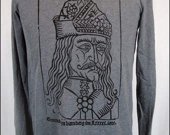 Clearance-- Vlad the Impaler Mens Hooded Pullover Shirt