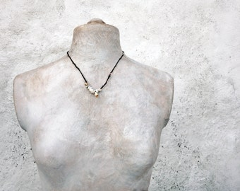 SOLD to Thea    part payment of 4    a beachcombers' pocketful necklace