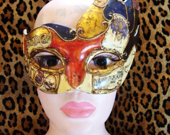 Costume mask, Mardi Gras mask, Festival mask, Party mask, Venetian mask