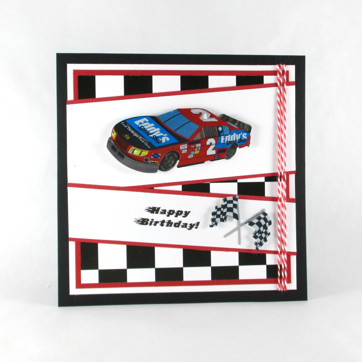 Birthday Cards Race Car Nascar Boys Birthday By