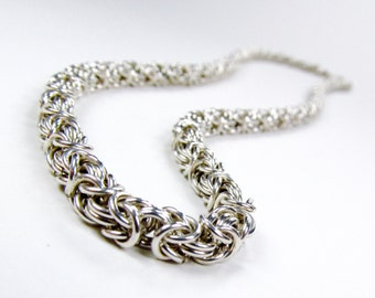 Sterling Silver - Byzantine Necklace