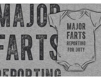 Major Farts Onesie