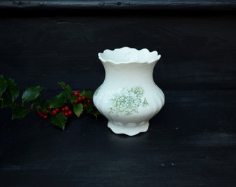 Ironstone Vase . Transfer Ware Pot . Knowles Taylor Knowles . Transferware