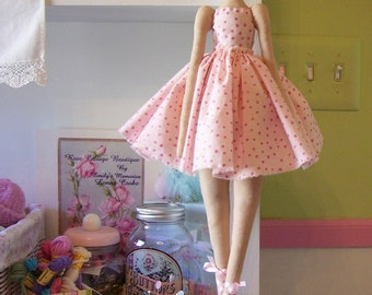 Sweet Ballerina Doll....she will dance her way into your heart...Pink