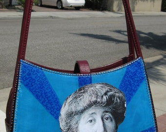 Upcycled Purse, Jeannette Rankin