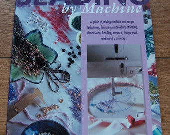 1997 pattern instruction how to book BEADING BY MACHINE