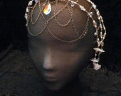 Bubbles of Light Beaded Headpiece