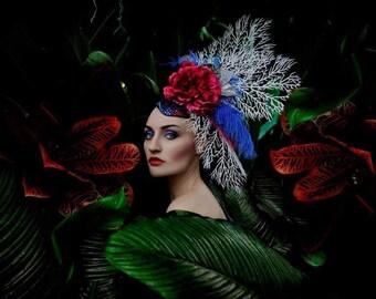 Glam Fascinator / Headdress