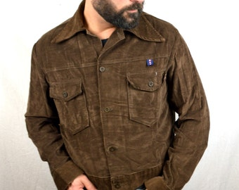 Vintage 1970s Brown Corduroy Jacket - By SWABY