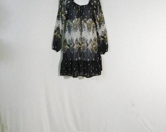 Boho Chic Geometric Mini Dress SM
