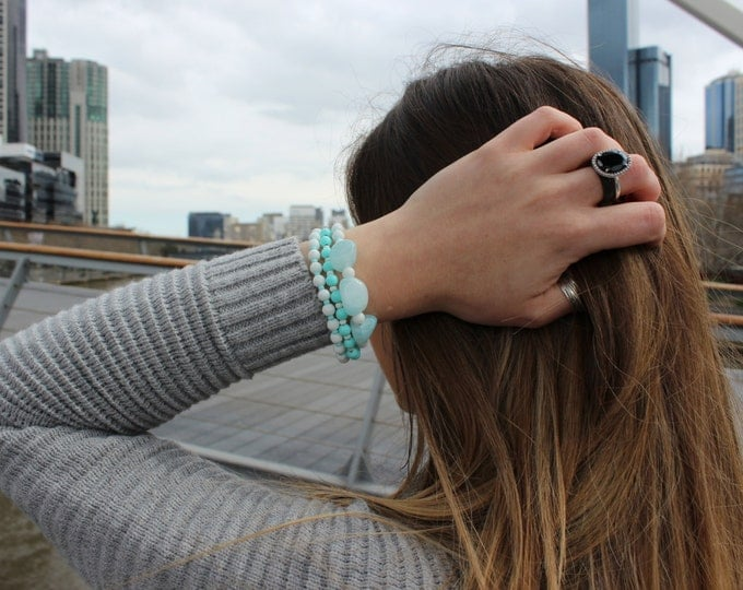 The Bayside stack/ RC stacking bracelet.