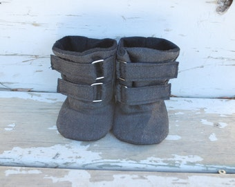 Soft Sole Baby Boots // Boy Baby Boots // Boy Toddler Boots // HARPER Soft Soled Boy Boots // Sizes 2-6