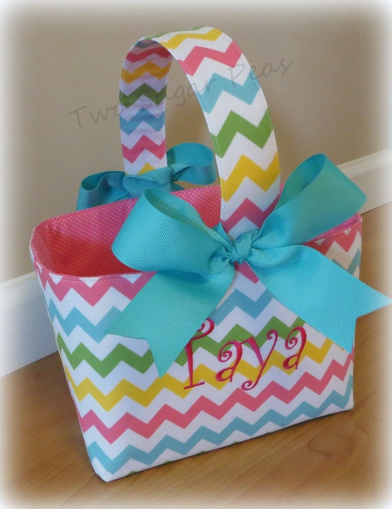 Personalized Easter Basket Personalized Easter Bucket Easter