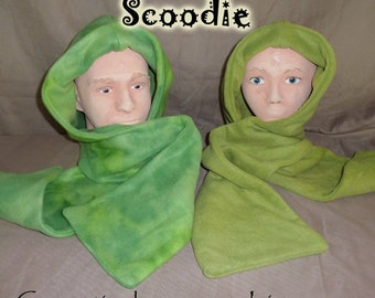 Lime green scoodie