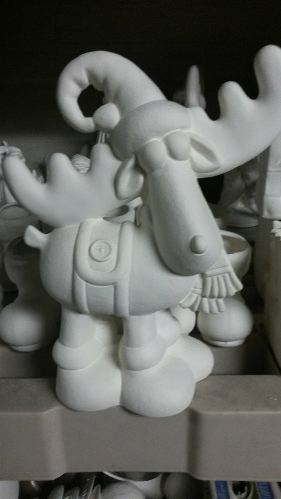 Ready to Paint Prancer Reindeer