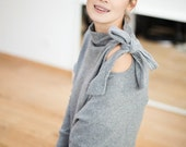 Comfy sweater | Silver sweater | Romantic sweater | LeMuse comfy sweater