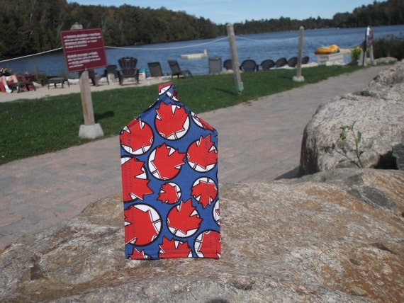 Another Red Maple Leaf Luggage Tag