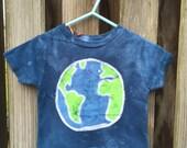 Kids Earth Day Shirt (2T), Blue Earth Shirt, Kids Earth Shirt, Boys Earth Shirt, Girls Earth Shirt, Toddler Earth Shirt