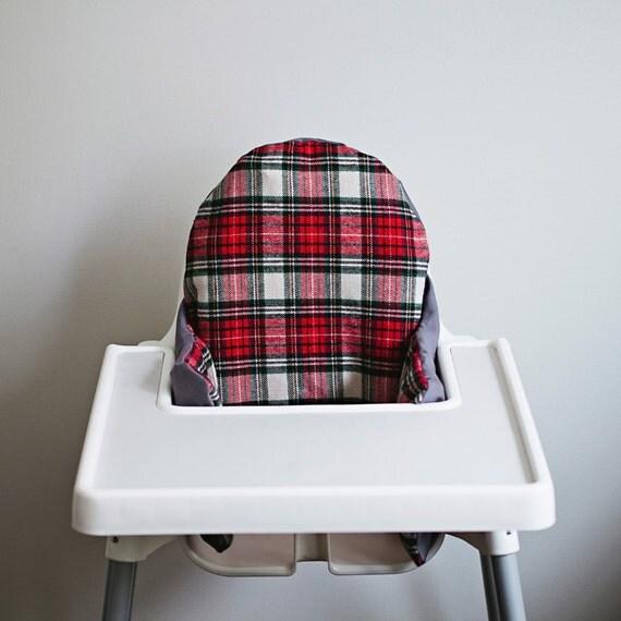 fireside flannel ikea antilop highchair cover high chair. Black Bedroom Furniture Sets. Home Design Ideas