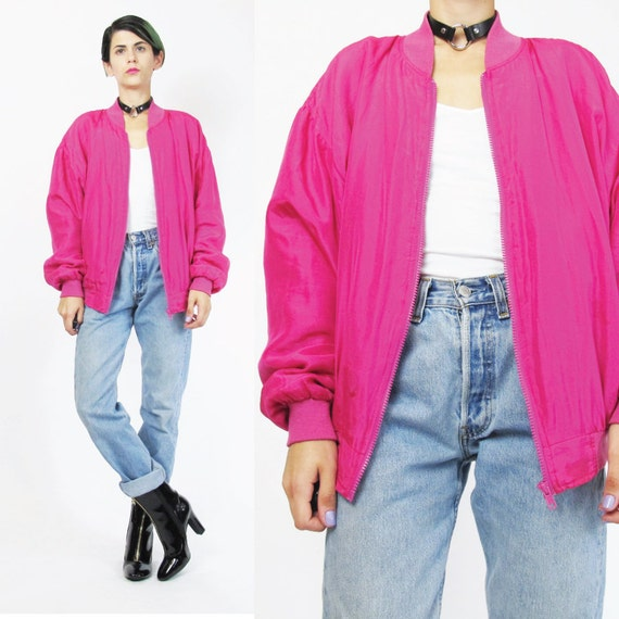Fuschia Pink Jacket | Fit Jacket